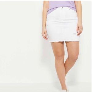 Dresses & Skirts - 💥3 for $15💥White denim shirt